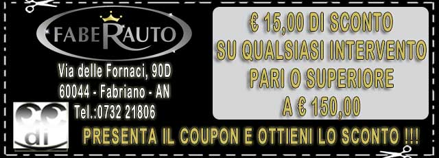 Coupon Faberauto Fabriano