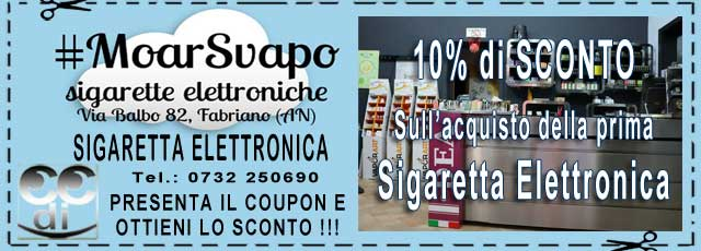 Coupon Moar Sigaretta Elettronica