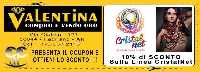 Coupon Valentina Compro Vendo Oro